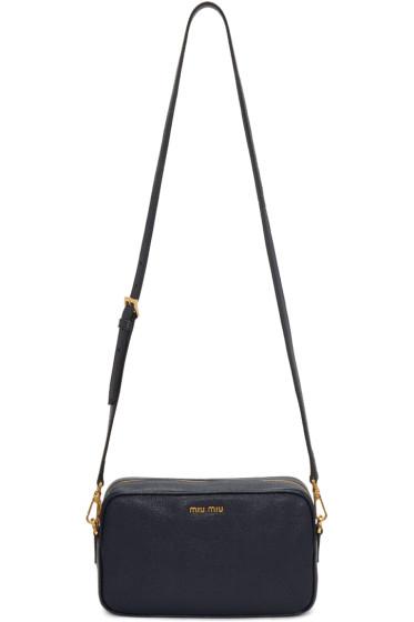 Miu Miu - Navy Camera Bag