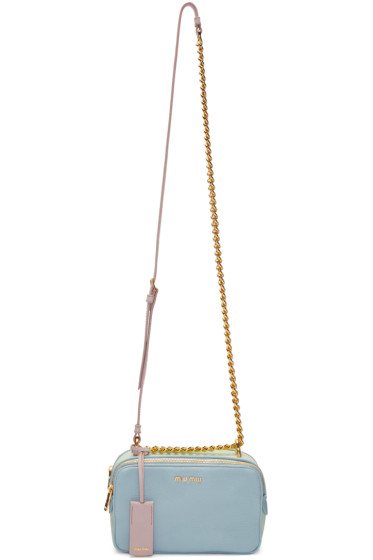 Miu Miu - Tricolor Double Zip Camera Bag