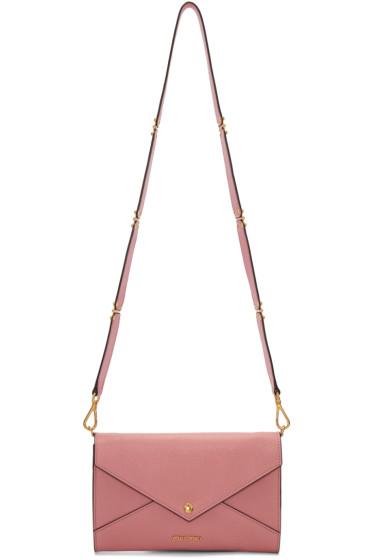 Miu Miu - Pink Envelope Clutch Bag