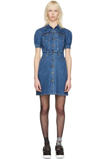 Miu Miu - Blue Denim Dress