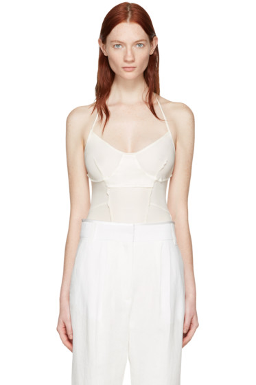 Wendelborn - Ivory Inside Out Bodysuit