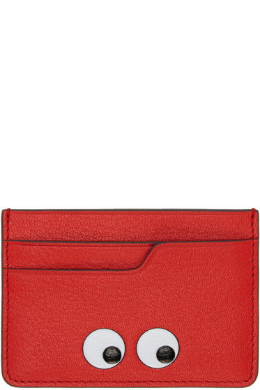 Anya Hindmarch - Red Eyes Card Holder