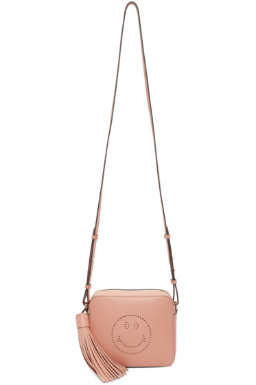 Anya Hindmarch - Pink Leather Smiley Bag