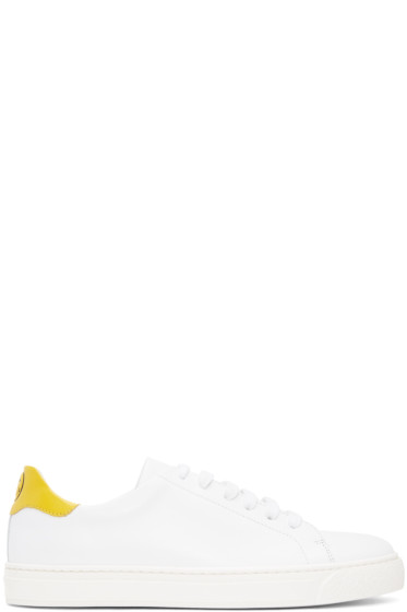 Anya Hindmarch - White Wink Tennis Sneakers