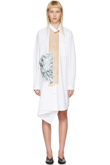 Bless - White Neckerchief Dress