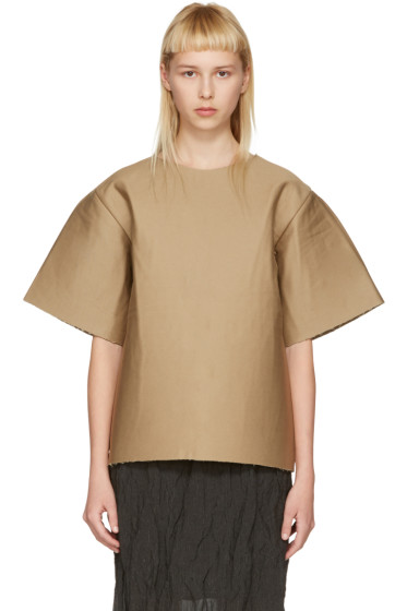 Bless - Brown Cardboard T-Shirt