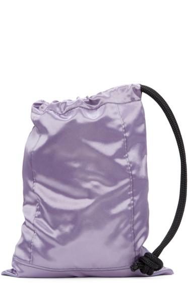 Ribeyron - SSENSE Exclusive Purple Pouch Bag