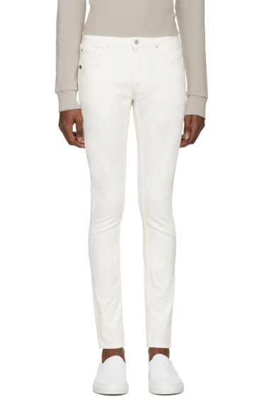 Tiger of Sweden Jeans - ホワイト スリム ジーンズ