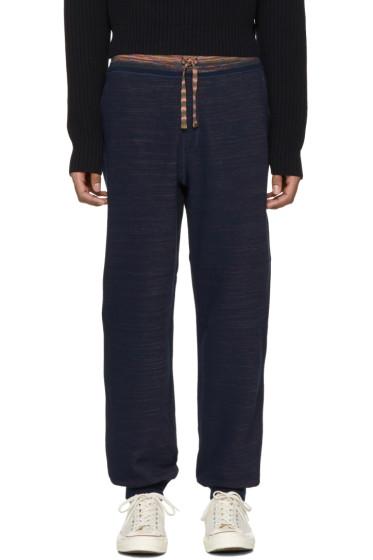 Missoni - Blue Contrast Lounge Pants