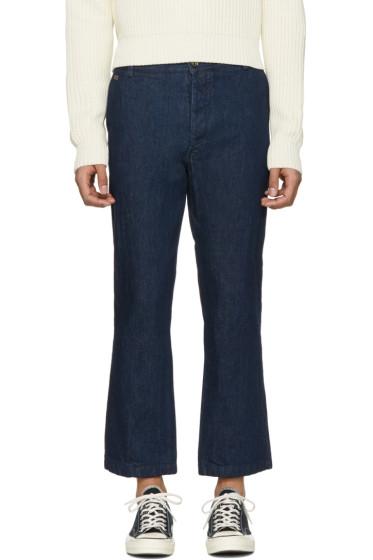 Missoni - Blue Denim Cropped Trousers