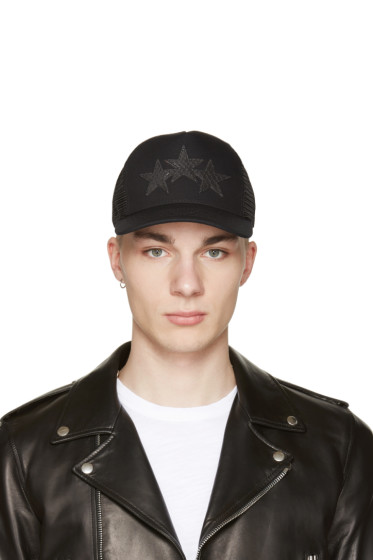 Amiri - Black Star Trucker Cap