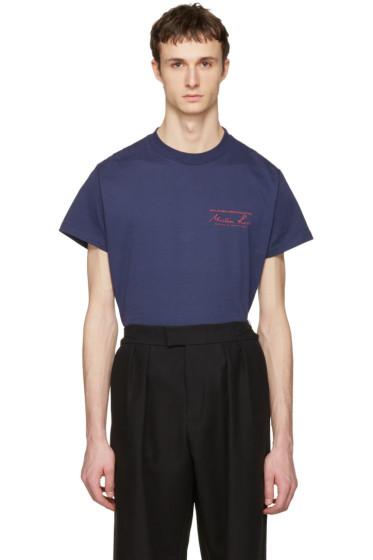 Martine Rose - Navy Logo T-Shirt