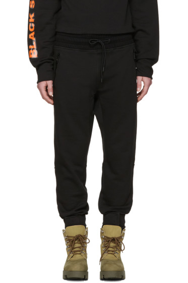 Moncler O - Black Drawstring Lounge Pants