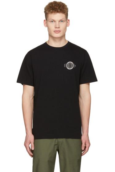 Saturdays NYC - ブラック リズム T シャツ