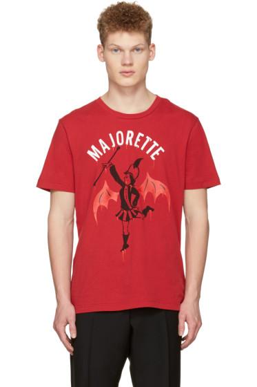 Coach 1941 - Red Baseman Edition Majorette T-Shirt