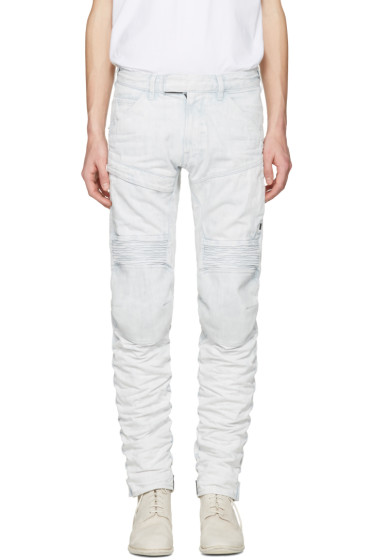 Raw Research - Blue 5620 Motion 3D Tapered Jeans