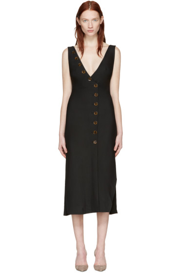 Khaite - ブラック クリスティ ドレス