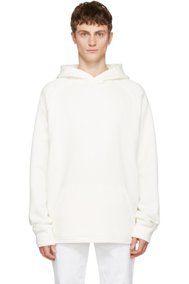 Childs - White Cut-Off Hoodie