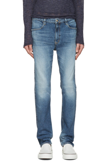 nonnative - Indigo Dweller Tapered Fit Jeans