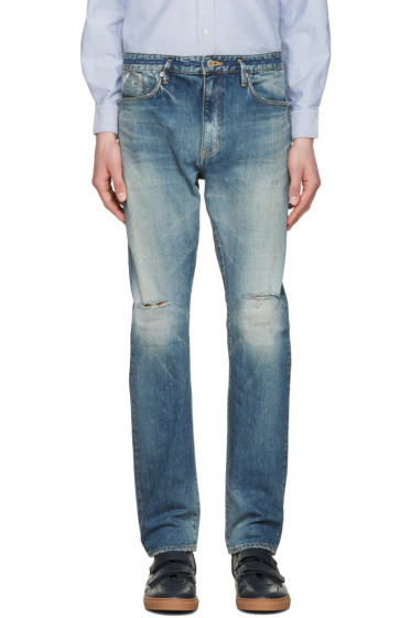 nonnative - Indigo Dweller Usual Fit Jeans
