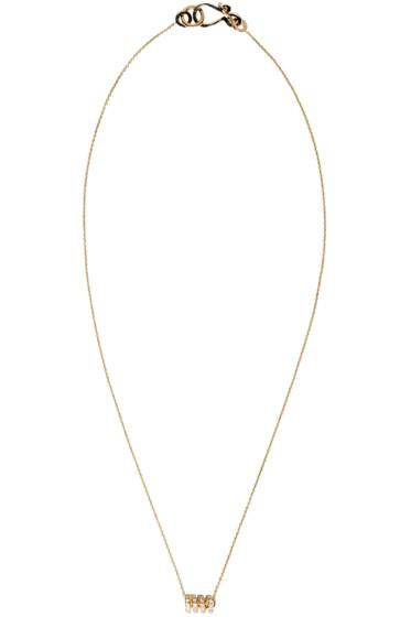 Sophie Bille Brahe - Gold Ressort Chain Necklace