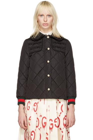 Gucci - Black Caban Coat