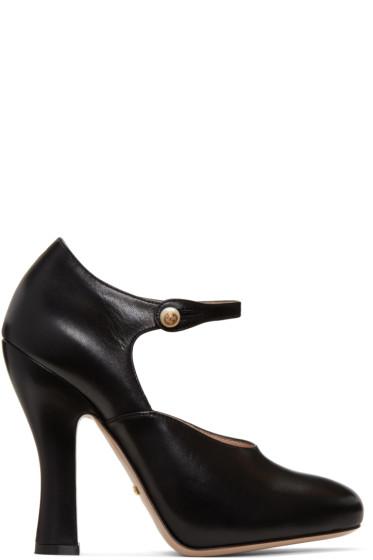 Gucci - Black Lesley Heels