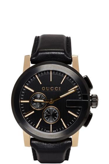 Gucci - Black G-Chrono Watch