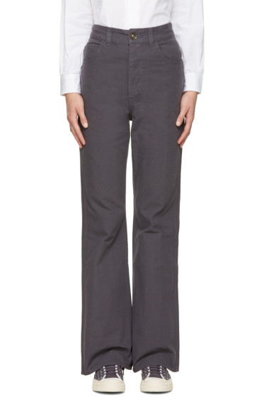 Visvim - Navy High-Rise Trousers