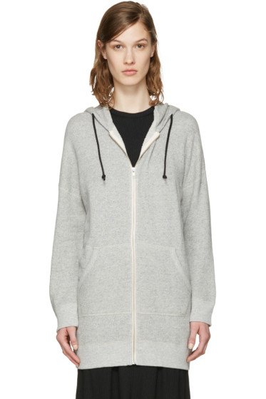 R13 - Grey Long Hoodie