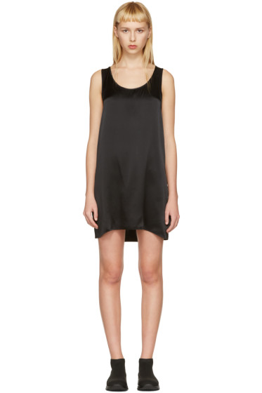 R13 - Black Mini Tank Dress