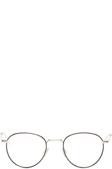 Dior Homme - シルバー ラウンド グラス