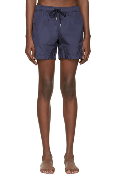 Moncler - Navy Drawstring Swim Shorts