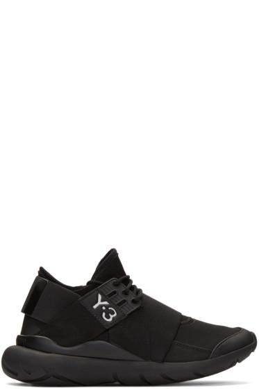 Y-3 - Black Qasa Elle Sneakers