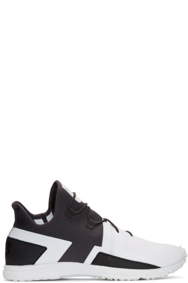 Y-3 - Black & White Arc RC Sneakers