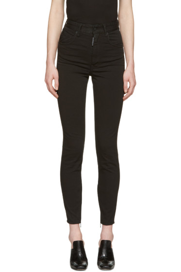 Dsquared2 - Black Twiggy Jeans