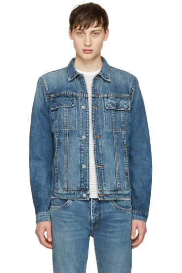 Helmut Lang - Blue Mr 87 Denim Jacket