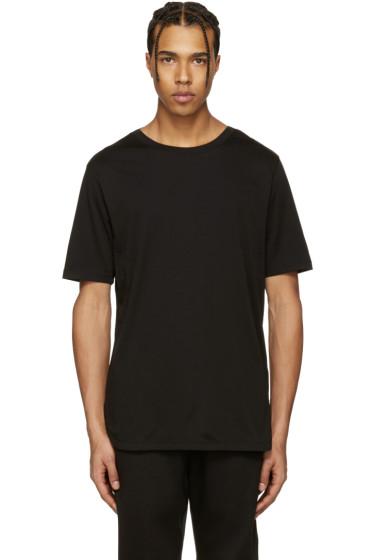 Helmut Lang - Black Cotton T-Shirt
