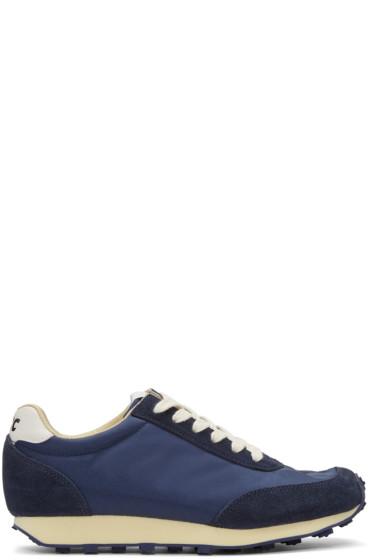 YMC - Navy Tabi Sneakers
