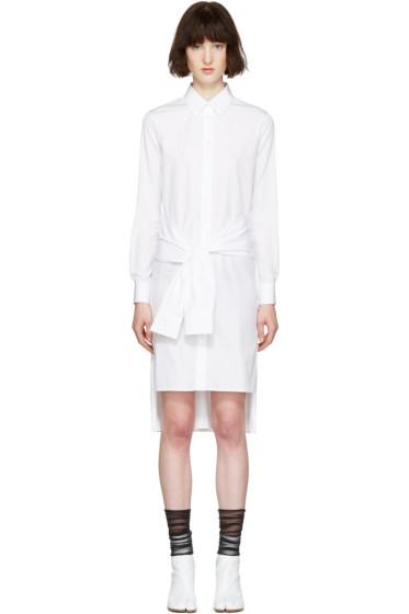 Maison Margiela - White Poplin Pure Dress
