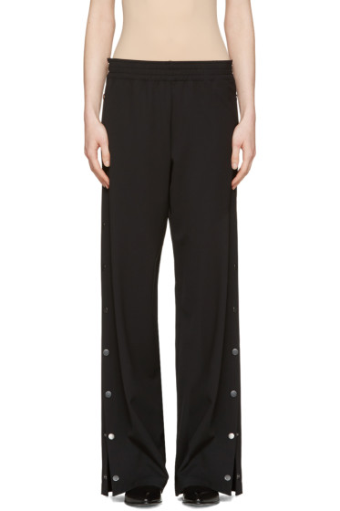 Maison Margiela - Black Side Snaps Trousers
