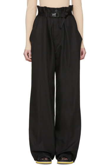 Maison Margiela - Black Parachute Trousers
