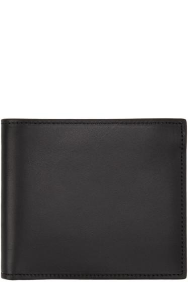 Maison Margiela - Black Leather Wallet