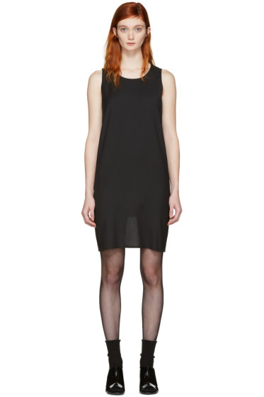 MM6 Maison Margiela - Black Short Wool Dress