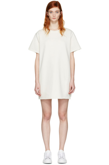MM6 Maison Margiela - Cream Pullover Dress