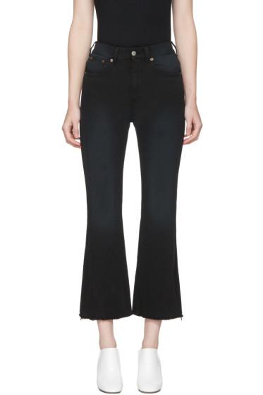 MM6 Maison Margiela - Black Cropped Jeans