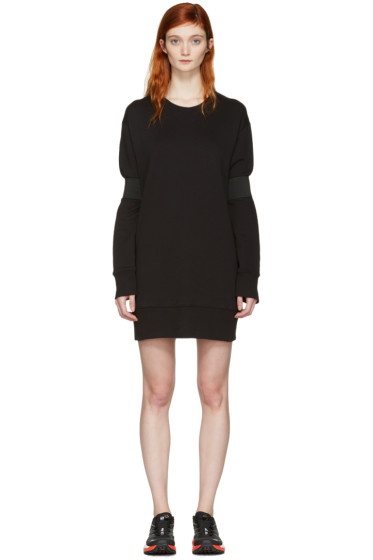 MM6 Maison Margiela - Black Pullover Dress