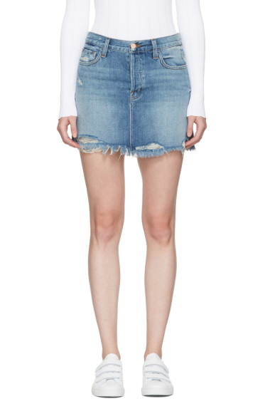 J Brand - Blue Denim Bonny Miniskirt
