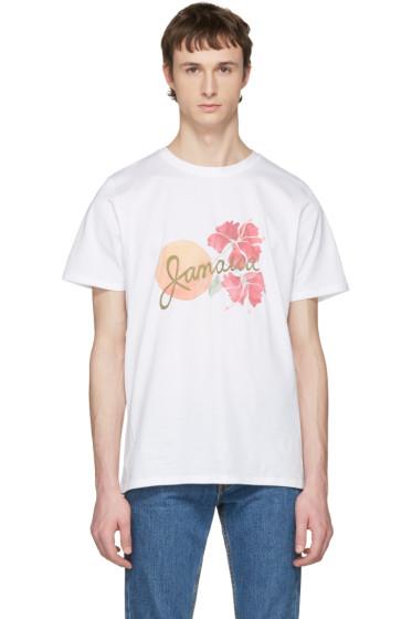 A.P.C. - White Jamaica T-Shirt