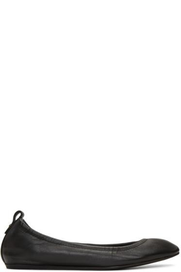 Lanvin - Black Leather Classic Ballerina Flats